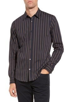 Vince Vintage Stripe Sport Shirt