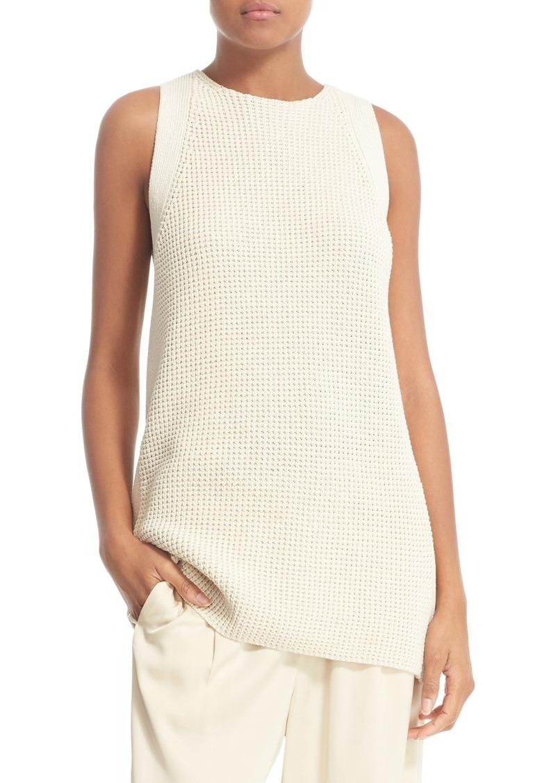Vince Vince Waffle Stitch Cotton Tunic Sweater | Sweaters - Shop ...