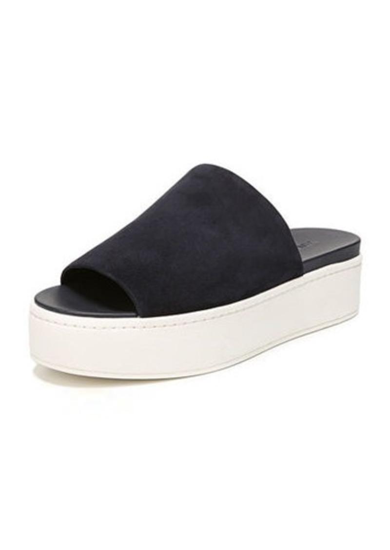 8ef2a530f9f Vince Walford Flatform Suede Slide Sandal Now  157.00