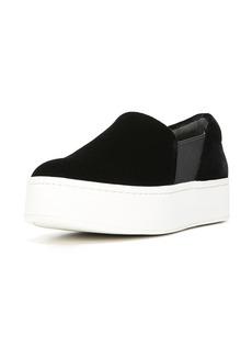 Vince Warren Velvet Platform Sneaker
