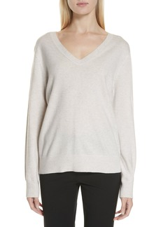 Vince Weekend V-Neck Cashmere Sweater