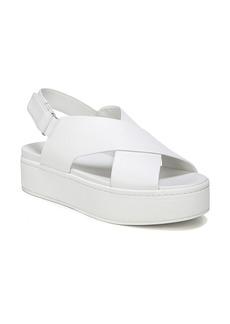 Vince Weslan Cross Strap Slingback Sandal (Women)