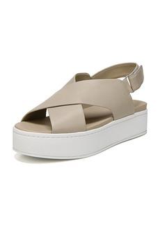 Vince Weslan Flatform Crisscross Sandals
