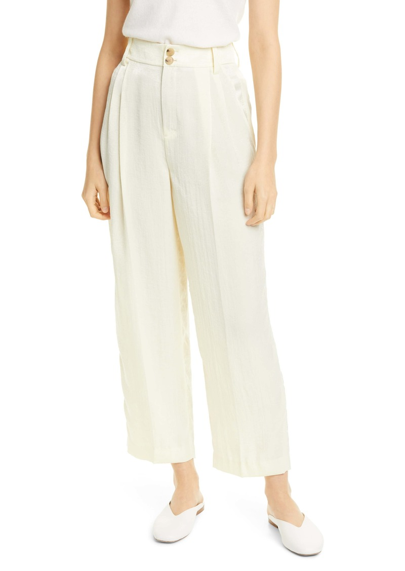 Vince Wide Leg Ankle Trousers