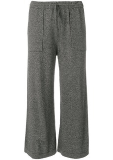 Vince wide leg cropped trousers - Grey