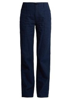Vince Wide-leg denim utility trousers