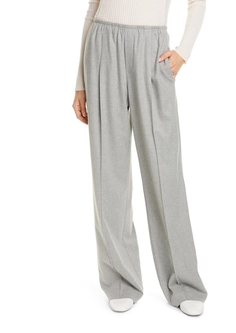 Vince Wide Leg Flannel Pants