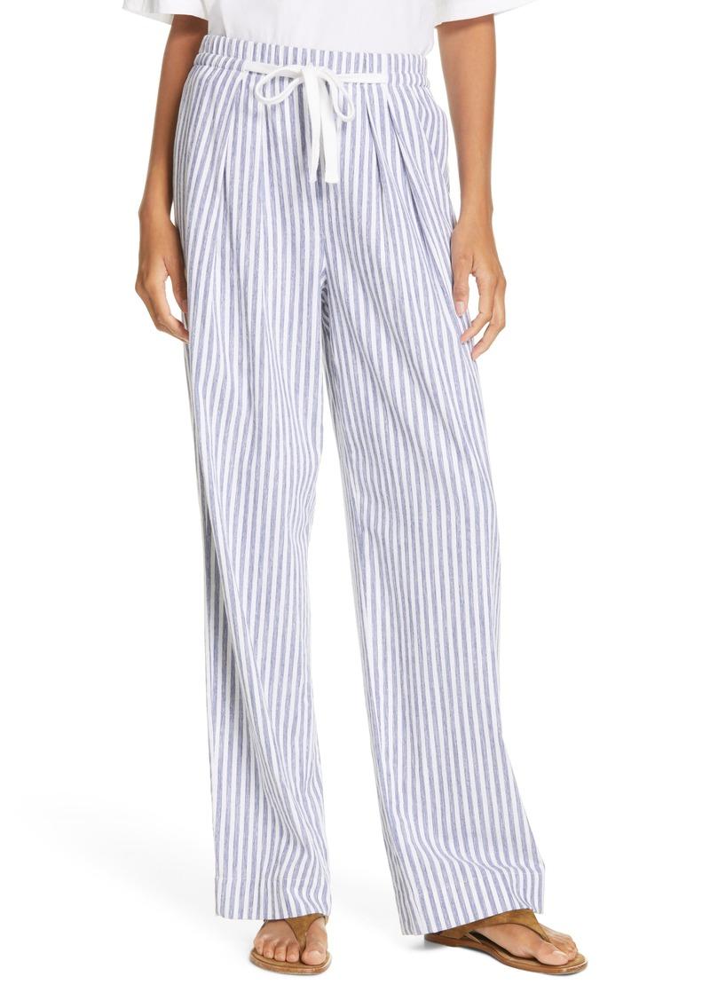 Vince Wide Leg Pull-On Pants