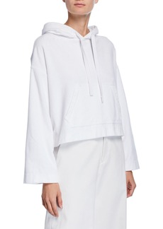 Vince Wide-Sleeve Cotton Pullover Hoodie