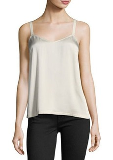 Vince Wide-Strap Satin Camisole Top