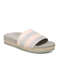 Vince Women's Alisa Color-Block Leather Pool Slide Sandals