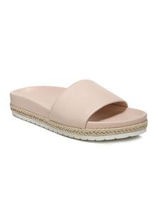 Vince Women's Aurelia Leather Pool Slide Sandals