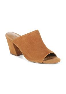 Vince Women's Baldriz Suede Block Heel Slide Sandals
