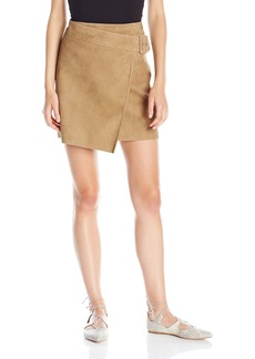 Vince Women's Belted Suede Skirt