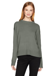 Vince Women's Boxy Crew Sweater  L