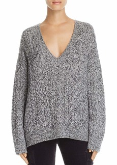 Vince Women's Cable V-Neck Sweater  XS