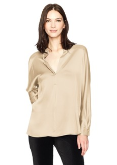 Vince Women's Collar Band Blouse  L