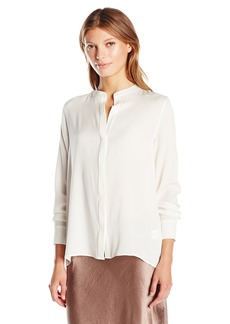 Vince Women's Collarless Blouse