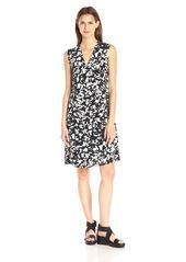 Vince Women's Confetti-Print Easy Front-Pleat Dress