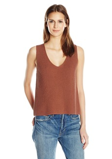 Vince Women's Cotton Rib Tank  S