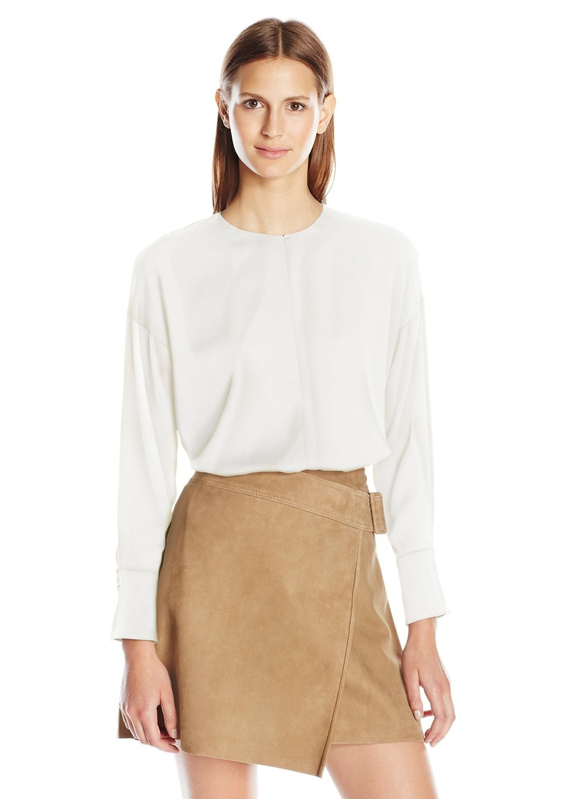 Vince Women's Covered Placket Blouse