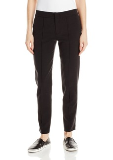 Vince Women's Cupro Cotton Fitted Pintuck Trouser