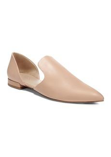 Vince Women's Damris Calf Leather d'Orsay Flats