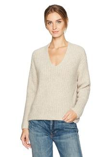 Vince Women's Deep V-Neck Pullover  L
