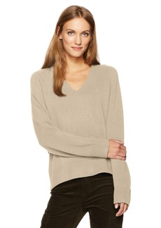 Vince Women's Deep V-Neck Raglan  M