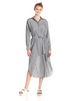 Vince Women's Double Stripe Shirt Dress  L