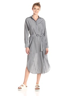 Vince Women's Double Stripe Shirt Dress  M