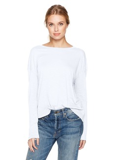 Vince Women's Drop Shoulder Crew Nk  S