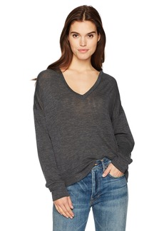 Vince Women's Drop Shoulder V-Neck  XS