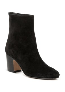 Vince Women's Dryden Suede High Block Heel Booties
