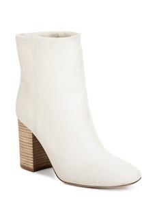 Vince Women's Felton Leather Block Heel Booties