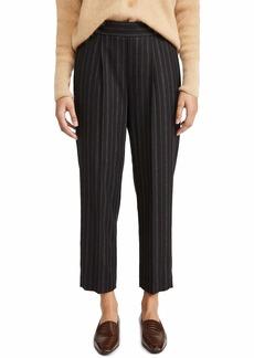 Vince Women's Flannel Stripe Pull On Pant
