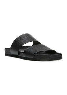 Vince Women's Georgie Leather Pool Slide Sandals