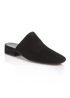 Vince Women's Giorgia Suede Low Heel Mules