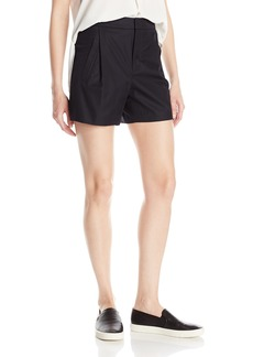 Vince Women's High Waisted Pleated Short