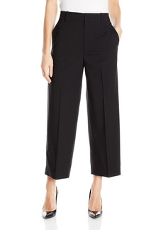 Vince Women's Highwaisted Crop Wide Trouser/V4039184-4-00blk