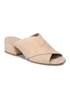 Vince Women's Karsen Suede Block Heel Slide Sandals