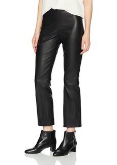 Vince Women's Leather Flare  L