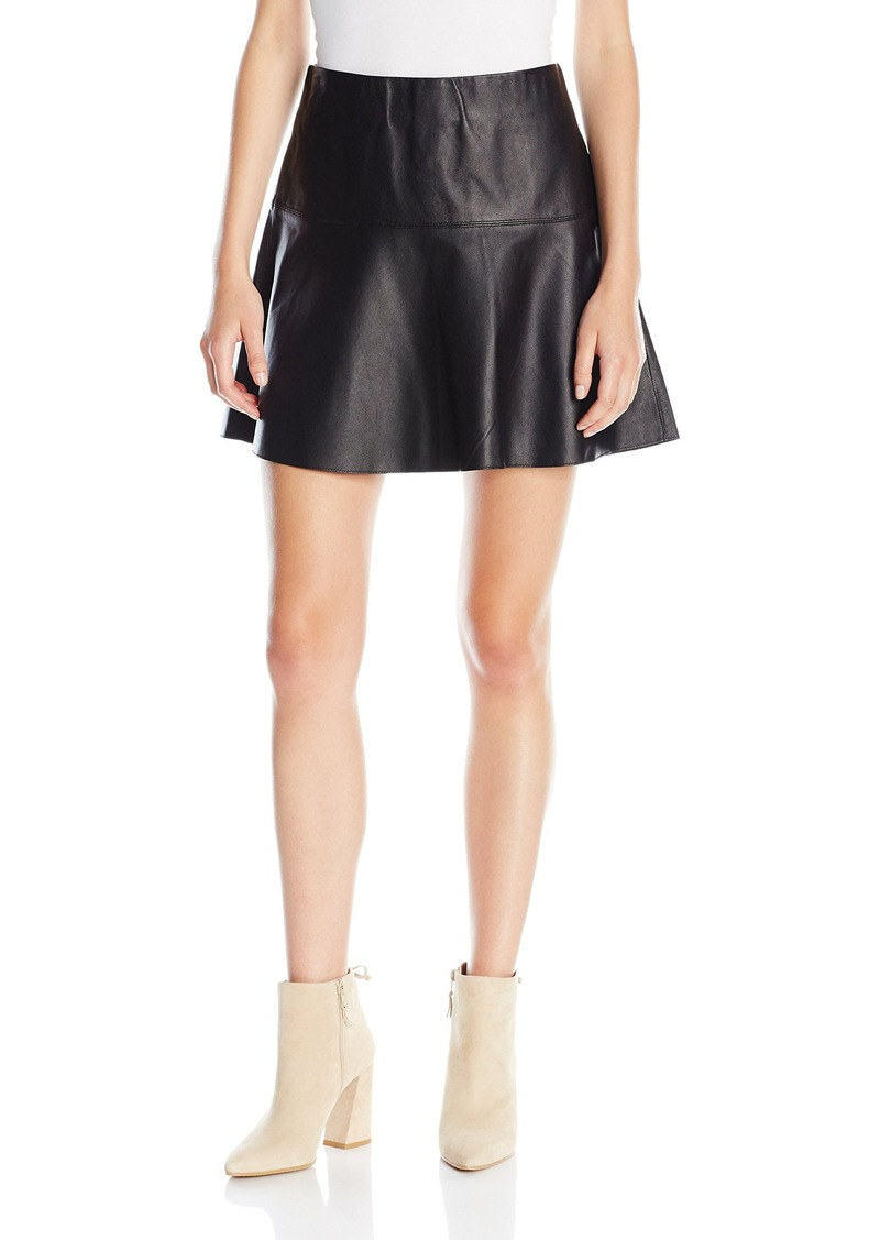 Vince Women's Leather Skirt