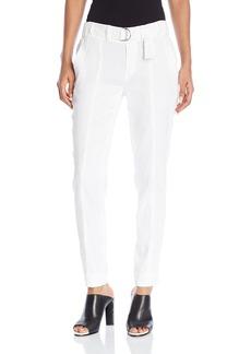Vince Women's Linen Belted Trouser