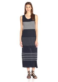 Vince Women's Linen Stripe Dress