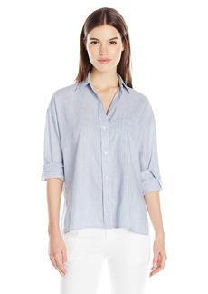 Vince Women's Ls Crop Shirt  M