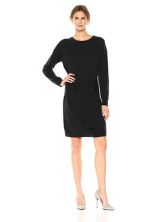 Vince Women's L/s Tie Waist Dress  S