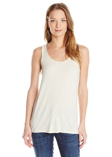 Vince Women's Luxe Rib High Neck Drape Tank