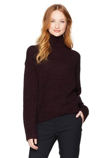 Vince Women's Marl Turtleneck  L