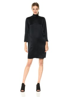 Vince Women's Mockneck Dress  XS